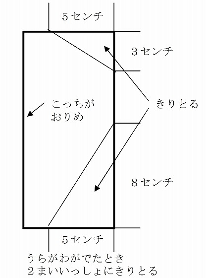 ハート 折り紙:折り紙凧作り方-plaza.rakuten.co.jp