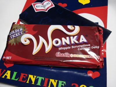 Wonkaチョコレート1