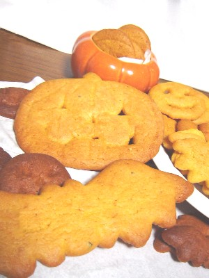 ハロウィンクッキー1