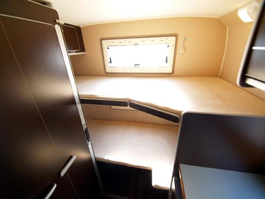 TOM200の2段ベッド