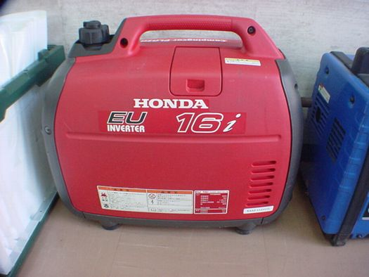 ホンダEU16i 発電機はポータブル発電機の代表格 ホンダのEU16i です。 ホンダ ...