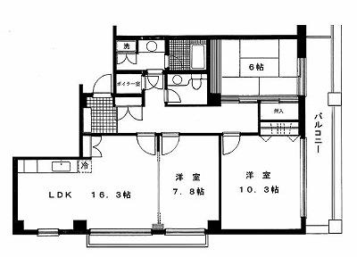 ベルメゾン四番町402間取り図(縮小版).jpg