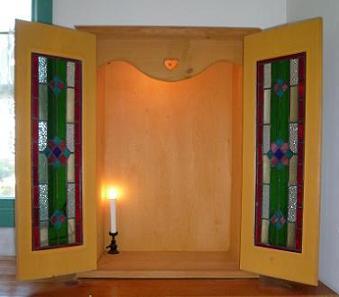 ステンドグラス仏壇2