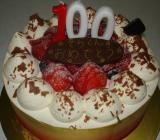 100歳ケーキ!?