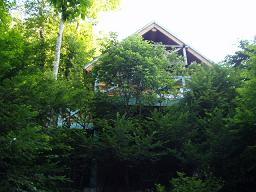 軽井沢のコテージ