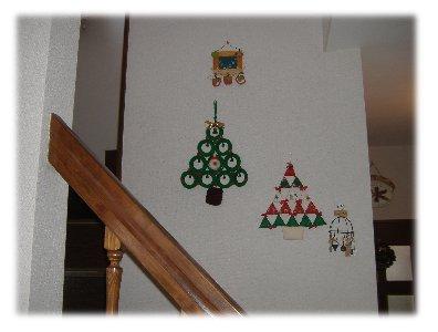 階段のツリー