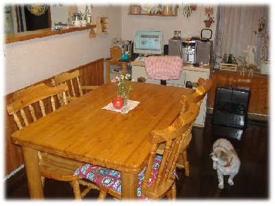 書斎?食卓だろ