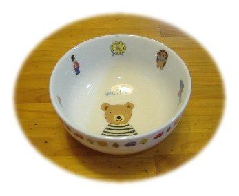 クマの茶碗