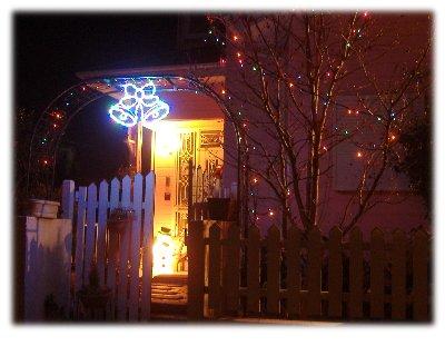 クリスマス玄関1210