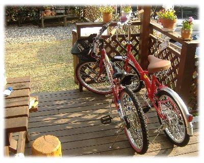 折りたたみ自転車収納