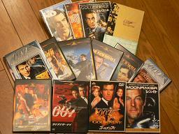 DVDコレクション007