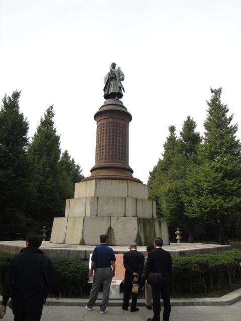 東京三大銅像の一つ 大村益次郎...