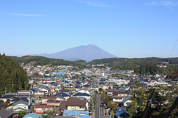 2011/10/19の岩手山