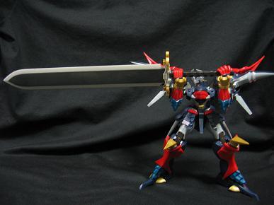 参式斬艦刀展開 「我が一刀は、雷のきらめきなり!」 展開した斬艦刀は片手で保持できます...
