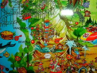 世界で一番可愛い!?世界地図!