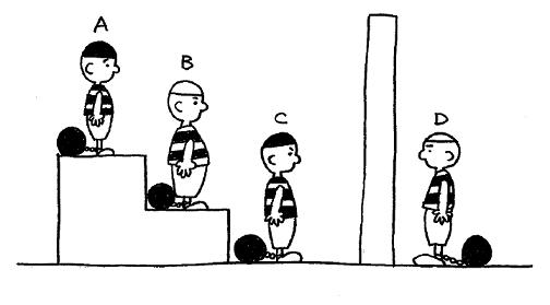 4人の囚人