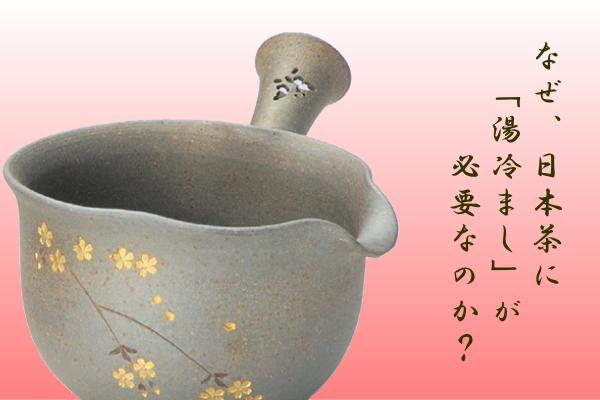 なぜ日本茶には「湯冷まし」が必要なのか?
