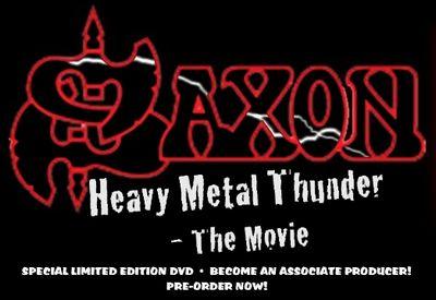 「HEAVY METAL THUNDER」SAXON