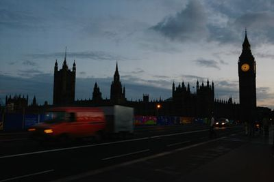 LIGHTS OUT IN LONDON