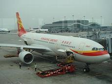 香港研修旅行 2010年12月 HX機体.JPG