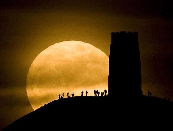 大きな月 | わたしのブログ by n...