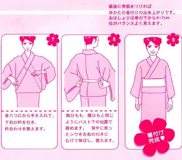 出典:http//image.space.rakuten.co.jp. 浴衣の着方