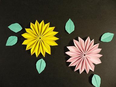 ハート 折り紙 : 折り紙 菊 折り方 : plaza.rakuten.co.jp