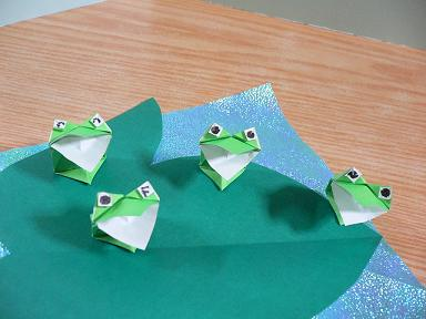 クリスマス 折り紙 : カエル 折り紙 : plaza.rakuten.co.jp