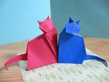 ハート 折り紙 折り紙 ネコ : plaza.rakuten.co.jp