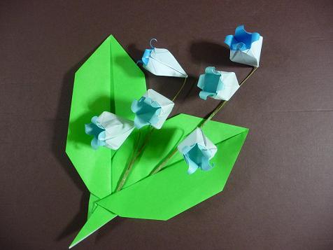 ハート 折り紙 折り紙すずらん折り方 : plaza.rakuten.co.jp