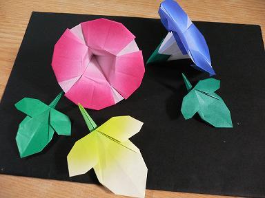 折り紙の 朝顔の折り紙の折り方 : divulgando.net