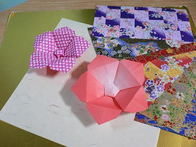 ハート 折り紙 折り紙梅の花折り方 : plaza.rakuten.co.jp
