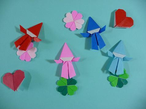 クリスマス 折り紙:折り紙 クローバー-plaza.rakuten.co.jp