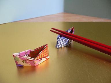 簡単 折り紙 折り紙で作る箸置き : plaza.rakuten.co.jp