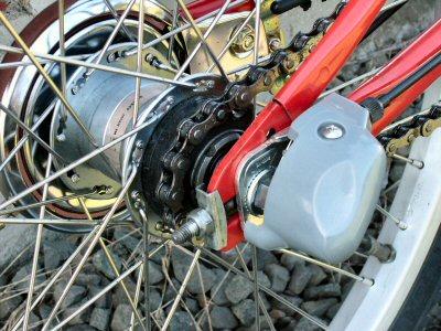 自転車の 自転車 内装8段化 : 魅惑の自転車改造 | 隠者の部屋 ...
