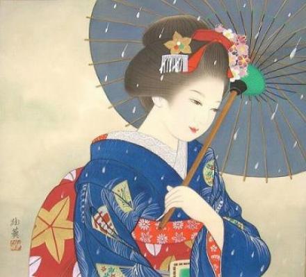 宮下柚葵『舞妓・冬』