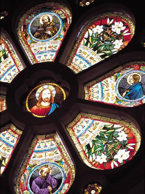 那須ステンドグラス美術館・天井画