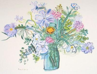 デュフィ『花束』
