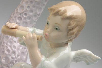 リヤドロ・笛吹く天使