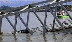 落ちたつり橋は中国が支援したも...