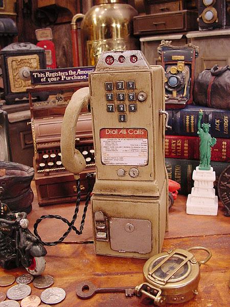 アメリカの古い電話機