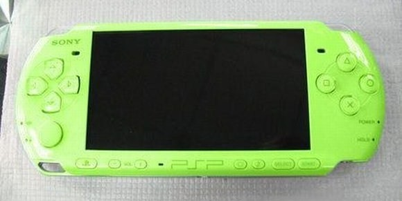 lime green PSP
