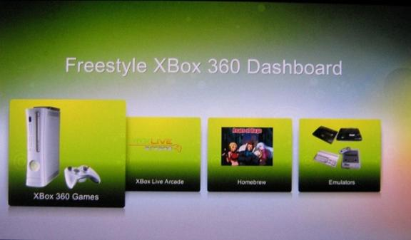 Freestyle XBOX 360 Dashboard