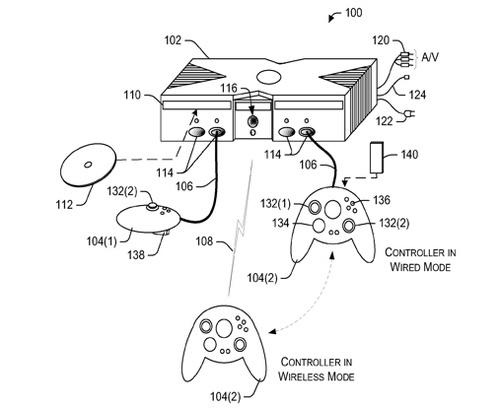 Dual-Mode Xbox 360 Controller