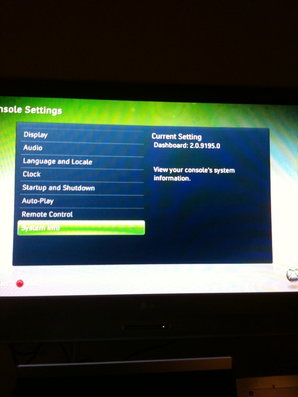 Xboxダッシュボードアップデート