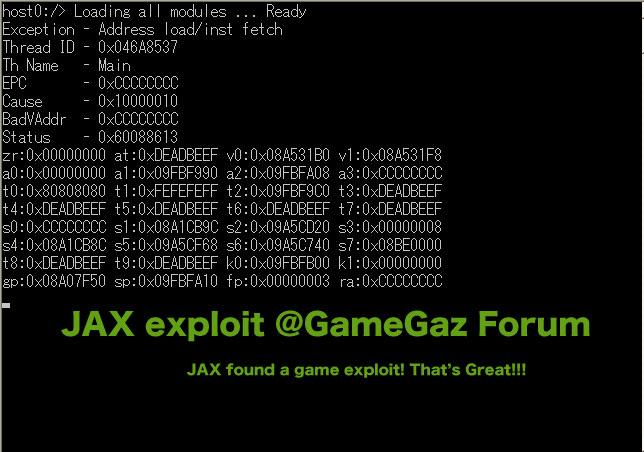 JAX-exploit