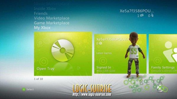 Xbox-360-Dashboard