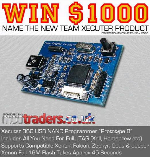 New Xecuter Product Competition