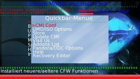 Custom Modul Installer