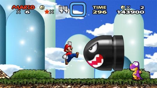Wii HD Super Mario World